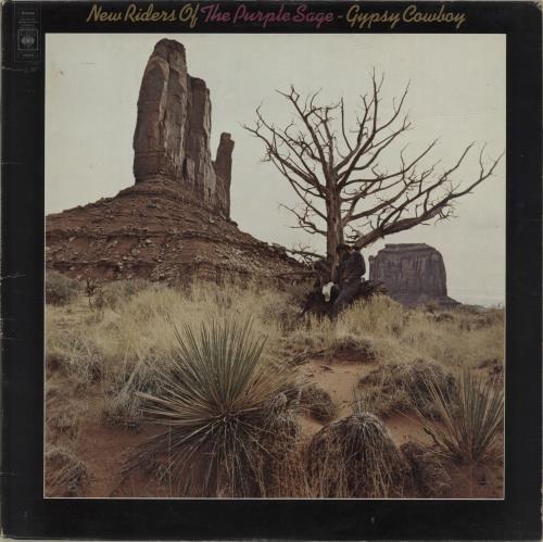 New Riders Of The Purple Sage Gypsy Cowboy vinyl LP album (LP record) UK NRPLPGY477390