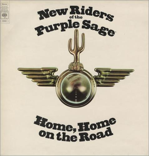 New Riders Of The Purple Sage Home Home On The Road vinyl LP album (LP record) UK NRPLPHO373889