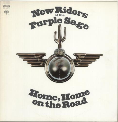 New Riders Of The Purple Sage Home Home On The Road vinyl LP album (LP record) US NRPLPHO703549