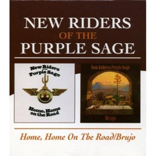 New Riders Of The Purple Sage Home, Home On The Road / Brujo CD album (CDLP) UK NRPCDHO482668