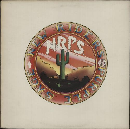 New Riders Of The Purple Sage New Riders Of The Purple Sage - Graduated label vinyl LP album (LP record) UK NRPLPNE674915