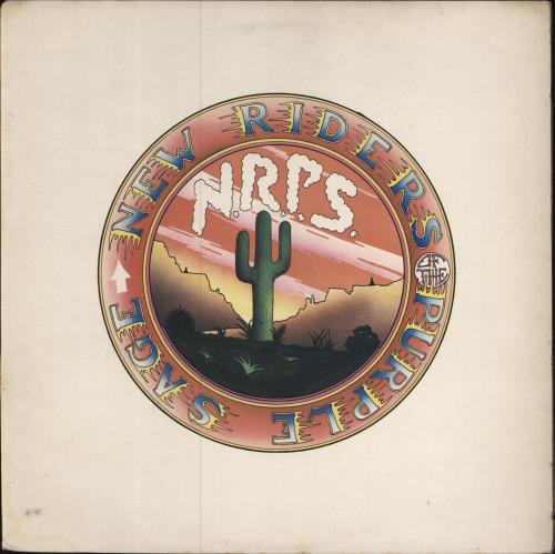 New Riders Of The Purple Sage New Riders Of The Purple Sage vinyl LP album (LP record) UK NRPLPNE701518