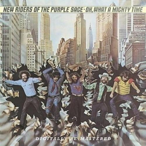 New Riders Of The Purple Sage Oh What A Mighty Time CD album (CDLP) UK NRPCDOH463109