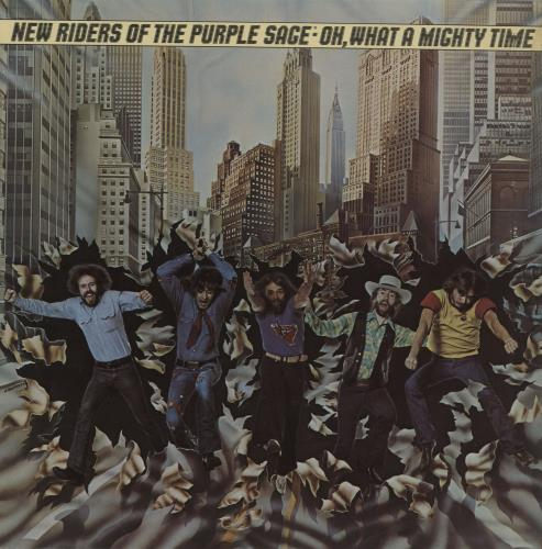 New Riders Of The Purple Sage Oh, What A Mighty Time vinyl LP album (LP record) UK NRPLPOH761361