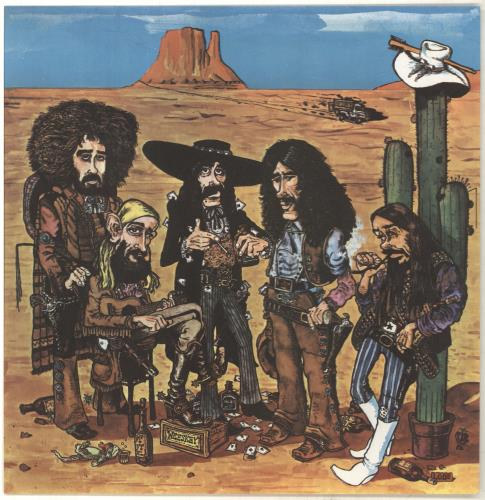 New Riders Of The Purple Sage Powerglide vinyl LP album (LP record) UK NRPLPPO173423