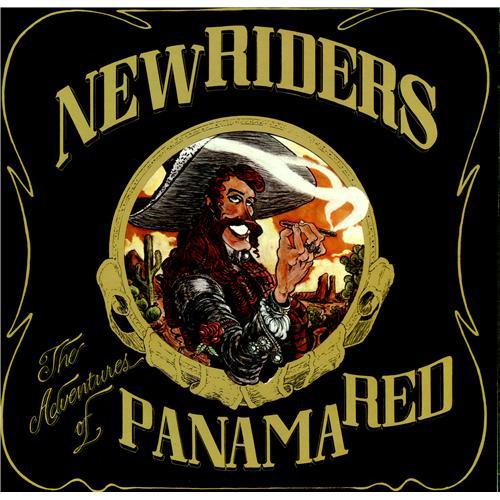 New Riders Of The Purple Sage The Adventure Of Panama Red vinyl LP album (LP record) US NRPLPTH425071