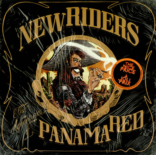New Riders Of The Purple Sage The Adventures Of Panama Red - sealed vinyl LP album (LP record) Canadian NRPLPTH438606