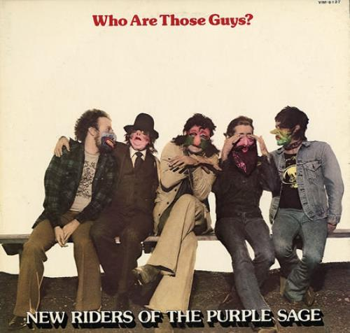 New Riders Of The Purple Sage Who Are Those Guys? - no obi vinyl LP album (LP record) Japanese NRPLPWH200456