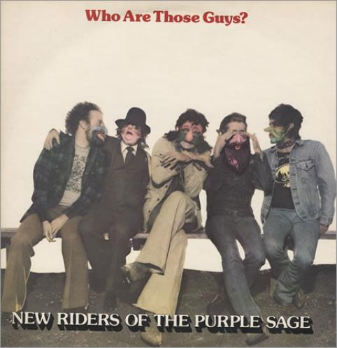 New Riders Of The Purple Sage Who Are Those Guys? vinyl LP album (LP record) UK NRPLPWH194114