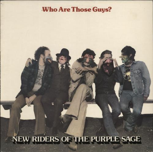 New Riders Of The Purple Sage Who Are Those Guys? vinyl LP album (LP record) UK NRPLPWH458555