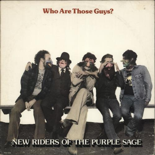 New Riders Of The Purple Sage Who Are Those Guys? vinyl LP album (LP record) US NRPLPWH701575