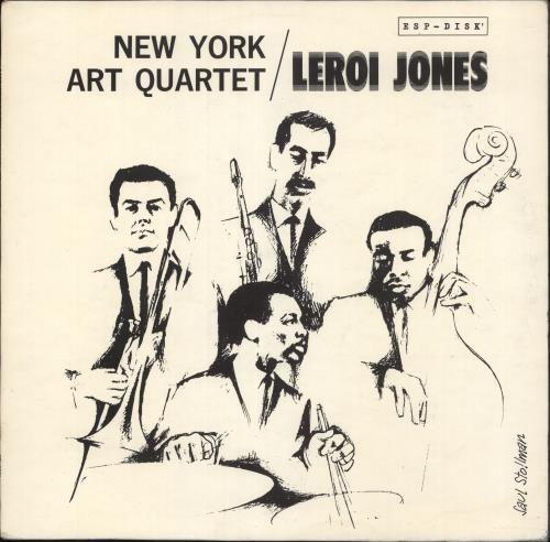 New York Art Quartet New York Art Quartet / LeRoi Jones vinyl LP album (LP record) UK NVZLPNE717755