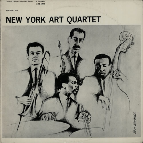 New York Art Quartet New York Art Quartet vinyl LP album (LP record) US NVZLPNE583704