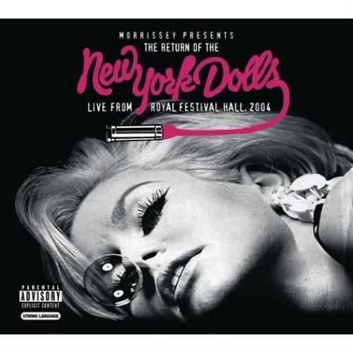 New York Dolls Morrissey Presents The Return Of The New York Dolls CD album (CDLP) UK NYDCDMO302453