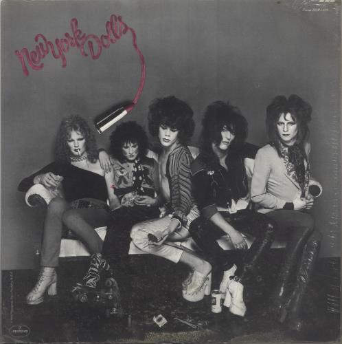 New York Dolls New York Dolls - Sealed vinyl LP album (LP record) US NYDLPNE736894