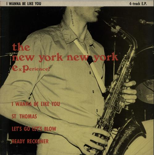 "New York New York I Wanna Be Like You 12"" vinyl single (12 inch record / Maxi-single) UK OE412IW654937"