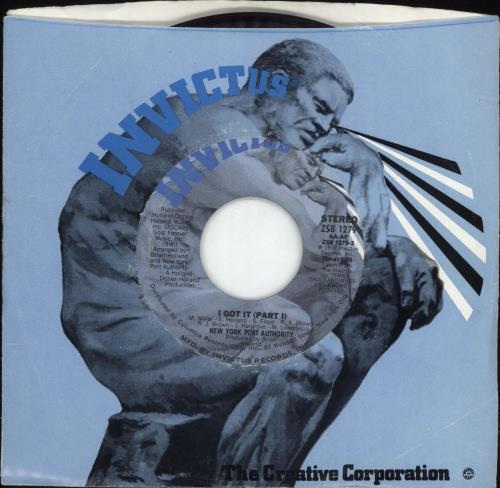"""New York Port Authority I Got It 7"""" vinyl single (7 inch record) US NE-07IG690112"""
