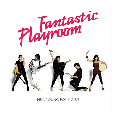 New Young Pony Club Fantastic Playroom CD album (CDLP) UK NPCCDFA406077