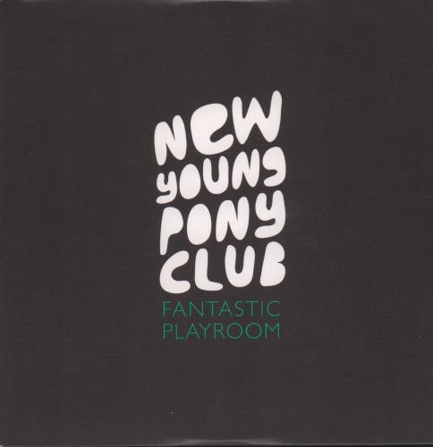 New Young Pony Club Fantastic Playroom CD-R acetate UK NPCCRFA665579