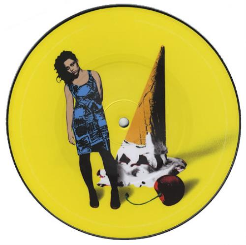 """New Young Pony Club Ice Cream 7"""" vinyl picture disc 7 inch picture disc single UK NPC7PIC405266"""