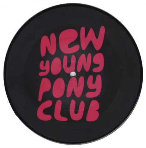 """New Young Pony Club The Bomb 7"""" vinyl picture disc 7 inch picture disc single UK NPC7PTH393944"""