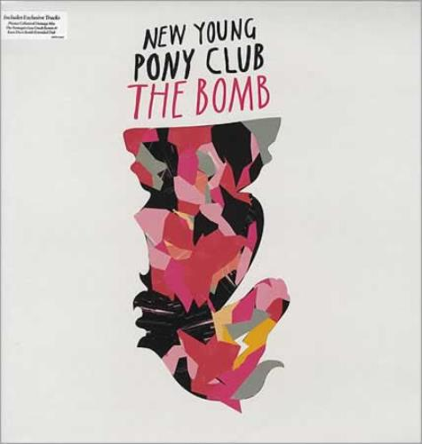 "New Young Pony Club The Bomb 12"" vinyl single (12 inch record / Maxi-single) UK NPC12TH393946"