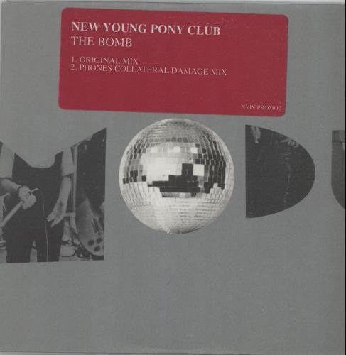 """New Young Pony Club The Bomb CD single (CD5 / 5"""") UK NPCC5TH665217"""