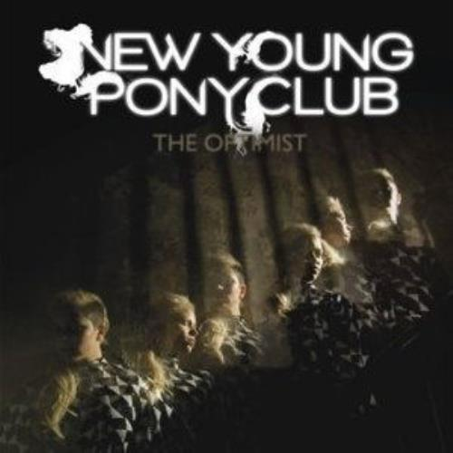 New Young Pony Club The Optimist CD album (CDLP) Japanese NPCCDTH501548