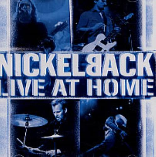 Nickelback Live At Home Video CD Thailand NLCVDLI239988