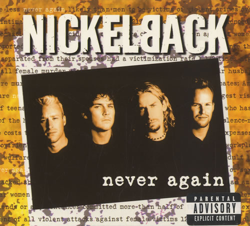 Nickelback Never Again 2-CD single set (Double CD single) UK NLC2SNE226988