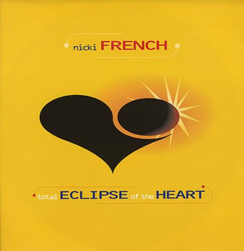 """Nicki French Total Eclipse Of The Heart - Yellow Sleeve 12"""" vinyl single (12 inch record / Maxi-single) UK NKF12TO137747"""