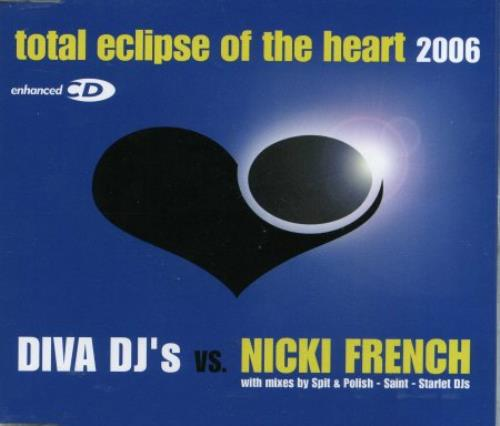 Nicki French Total Eclipse Of The Heart 2006 German CD