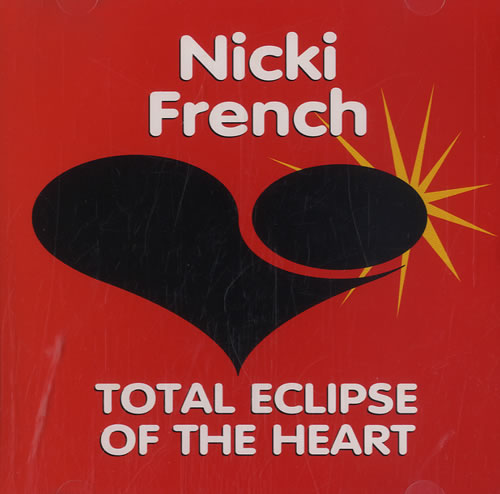 """Nicki French Total Eclipse Of The Heart CD single (CD5 / 5"""") US NKFC5TO51172"""