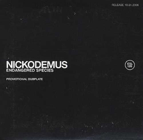 Nickodemus Endangered Species CD album (CDLP) UK NIUCDEN384654