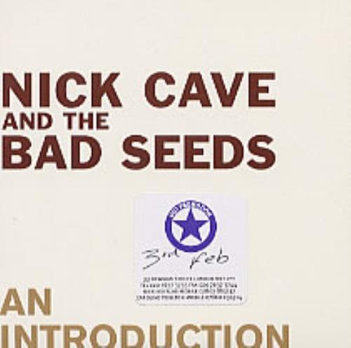 "Nick Cave An Introduction CD single (CD5 / 5"") European NCVC5AN235915"