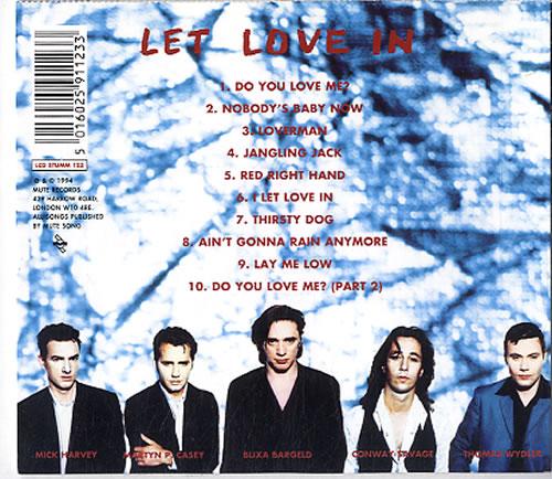Nick Cave Let Love In + Postcards CD album (CDLP) UK NCVCDLE633180