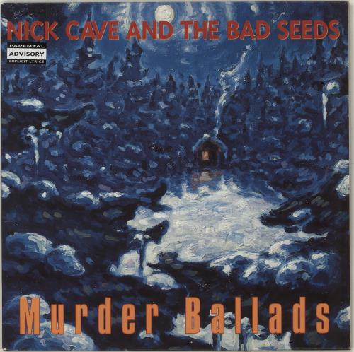 Nick Cave Murder Ballads vinyl LP album (LP record) UK NCVLPMU199652