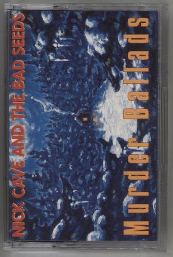 Nick Cave Murder Ballads cassette album UK NCVCLMU712487