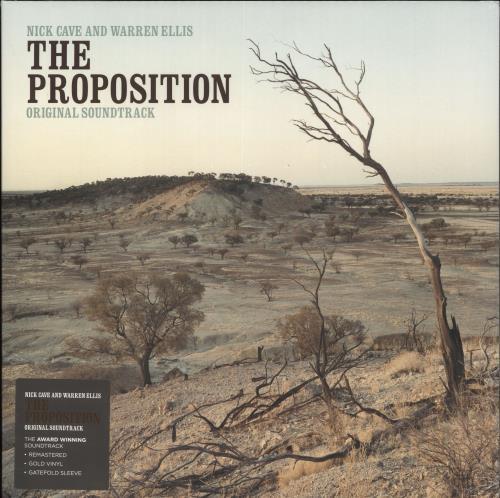 Nick Cave The Proposition (Original Soundtrack) - Gold Vinyl - Sealed vinyl LP album (LP record) UK NCVLPTH707374