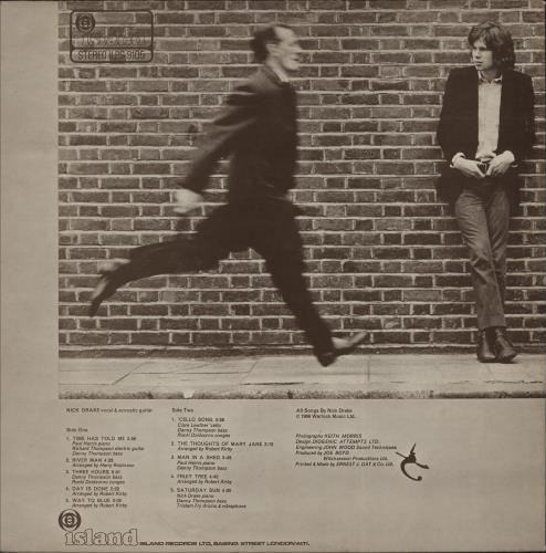 Nick Drake Five Leaves Left - 1st - Misprinted Label vinyl LP album (LP record) UK N-DLPFI752215