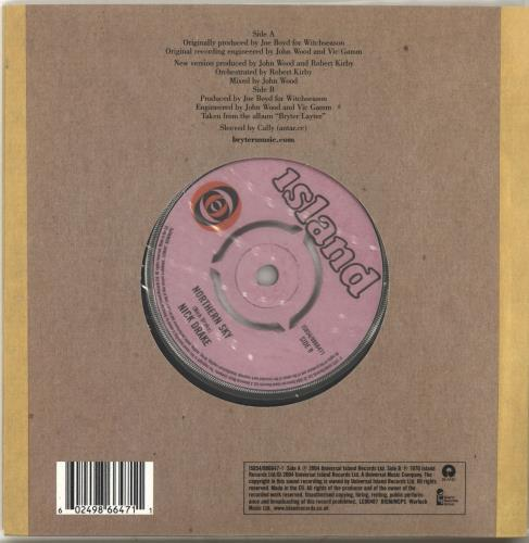 "Nick Drake Magic 7"" vinyl single (7 inch record) UK N-D07MA283292"