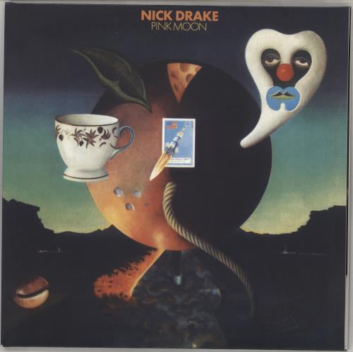 Nick Drake Pink Moon - 180gm vinyl LP album (LP record) UK N-DLPPI708855