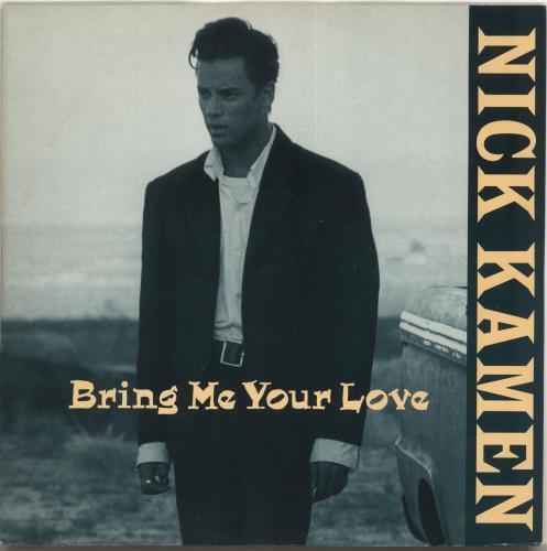 "Nick Kamen Bring Me Your Love 12"" vinyl single (12 inch record / Maxi-single) UK KAM12BR76033"