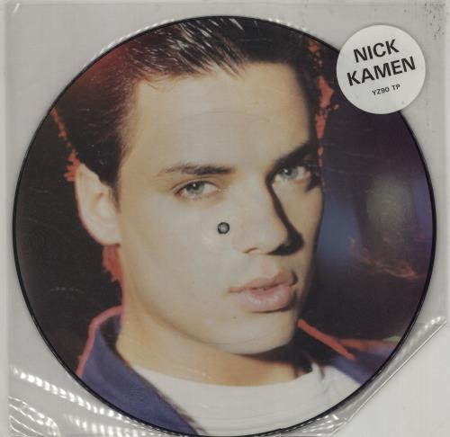 "Nick Kamen Each Time You Break My Heart 12"" vinyl picture disc 12inch picture disc record UK KAM2PEA55607"