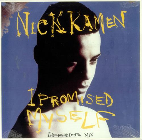"Nick Kamen I Promised Myself 12"" vinyl single (12 inch record / Maxi-single) US KAM12IP456725"