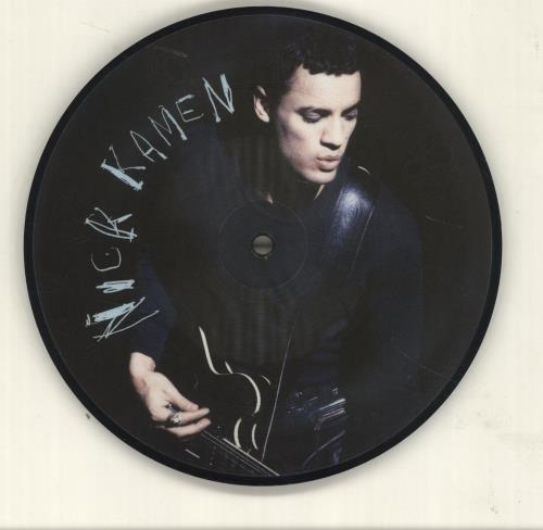 "Nick Kamen I Promised Myself 7"" vinyl picture disc 7 inch picture disc single UK KAM7PIP64159"