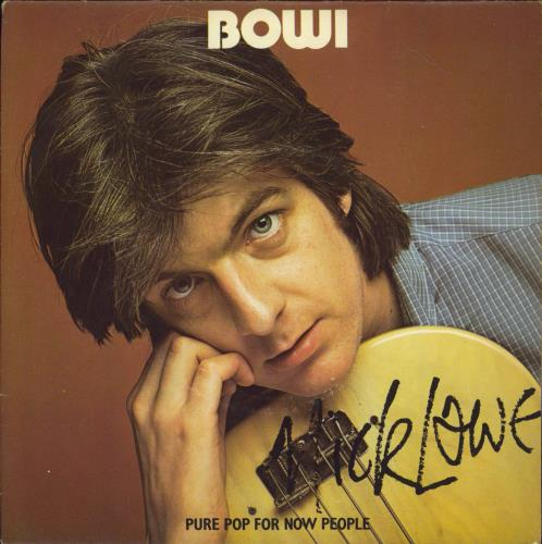 """Nick Lowe Bowi - Picture Sleeve 7"""" vinyl single (7 inch record) UK LOW07BO449845"""