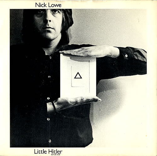 "Nick Lowe Little Hitler - 4 prong 7"" vinyl single (7 inch record) UK LOW07LI610545"