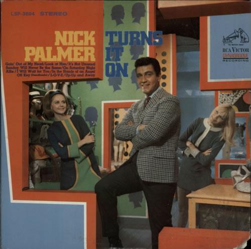 Nick Palmer Turns It On vinyl LP album (LP record) US NCPLPTU608107