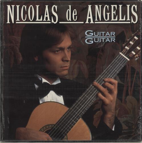 Nicolas De Angelis Guitar Guitar vinyl LP album (LP record) UK O2XLPGU694218